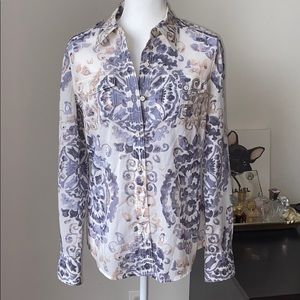 Tory Burch Cotton Button down shirt in size 6